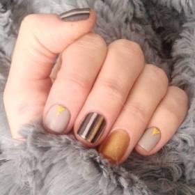 40 Simple Grey Nail Art Ideas 30 2