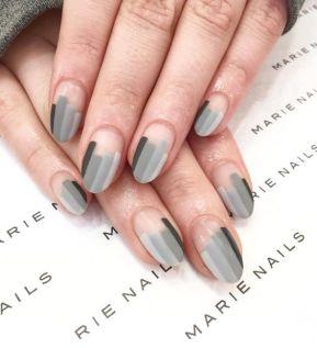 40 Simple Grey Nail Art Ideas 5 2