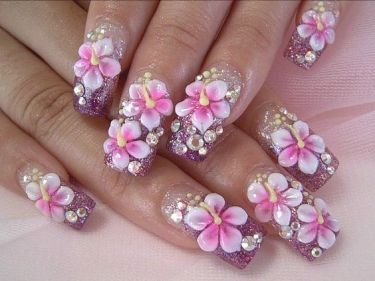 40 Unique 3D Nails Designs Ideas 25
