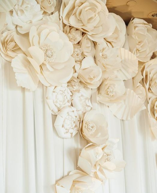 40 Ways to Use Paper Flowers At Your Wedding 10