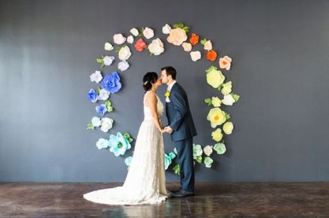 40 Ways to Use Paper Flowers At Your Wedding 14