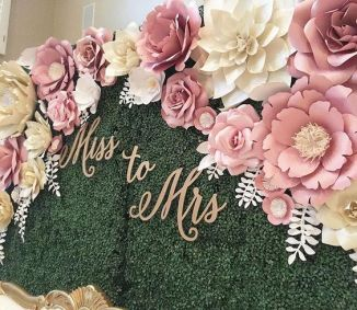 40 Ways to Use Paper Flowers At Your Wedding 15