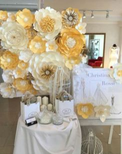 40 Ways to Use Paper Flowers At Your Wedding 27