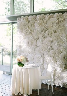40 Ways to Use Paper Flowers At Your Wedding 45