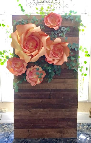 40 Ways to Use Paper Flowers At Your Wedding 49