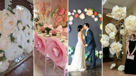 40 Ways to Use Paper Flowers At Your Wedding