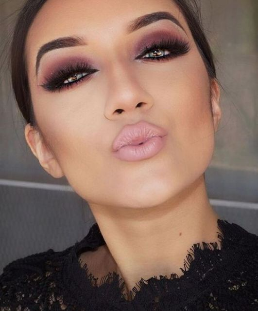 40 Ways to Wear Pink Lipstick Ideas 10