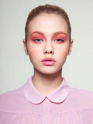 40 Ways to Wear Pink Lipstick Ideas 23
