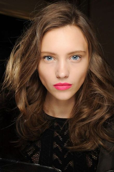 40 Ways to Wear Pink Lipstick Ideas 34