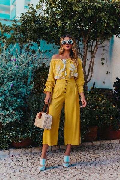 40 Yellow Outfits in Fashion Ideas 2
