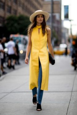 40 Yellow Outfits in Fashion Ideas 22