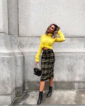 40 Yellow Outfits in Fashion Ideas 30
