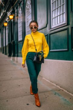 40 Yellow Outfits in Fashion Ideas 4