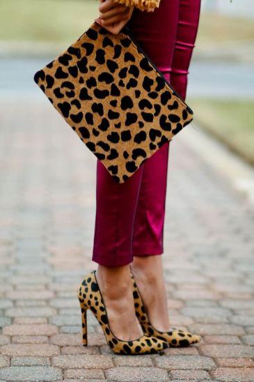 50 Animal Print High Heels Shoes Ideas 53