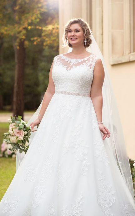 50 Ball Gown for Pluz Size Brides Ideas 13
