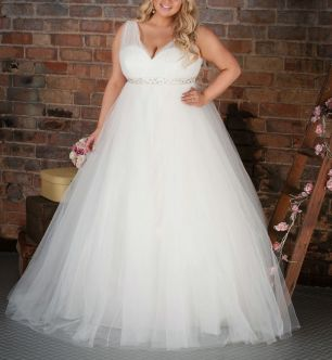 50 Ball Gown for Pluz Size Brides Ideas 14