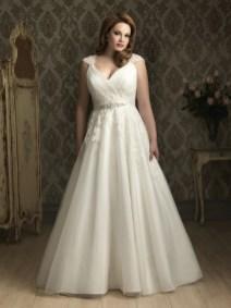 50 Ball Gown for Pluz Size Brides Ideas 15