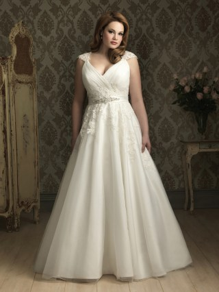 50 Ball Gown for Pluz Size Brides Ideas 15