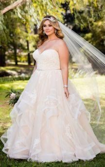 50 Ball Gown for Pluz Size Brides Ideas 19