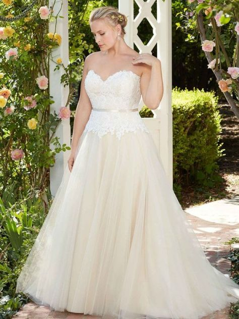 50 Ball Gown for Pluz Size Brides Ideas 21