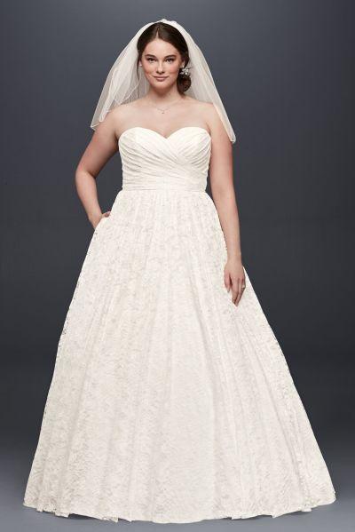 50 Ball Gown for Pluz Size Brides Ideas 23