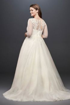 50 Ball Gown for Pluz Size Brides Ideas 24