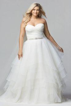 50 Ball Gown for Pluz Size Brides Ideas 27