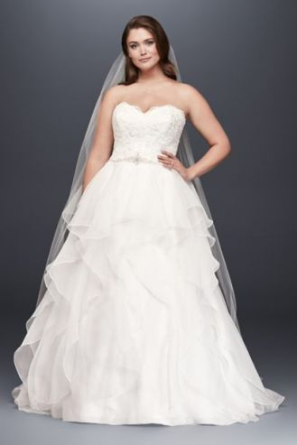 50 Ball Gown for Pluz Size Brides Ideas 31