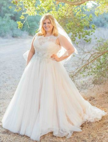 50 Ball Gown for Pluz Size Brides Ideas 32