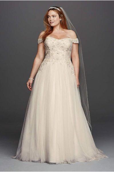 50 Ball Gown for Pluz Size Brides Ideas 37