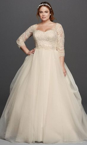 50 Ball Gown for Pluz Size Brides Ideas 4