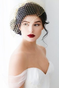 50 Blusher Veils and Bridcage for Brides Ideas 14