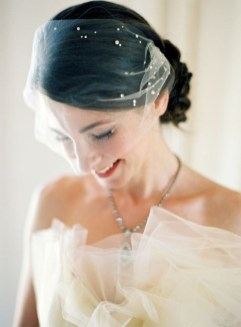 50 Blusher Veils and Bridcage for Brides Ideas 2