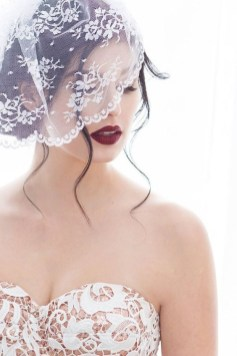 50 Blusher Veils and Bridcage for Brides Ideas 21