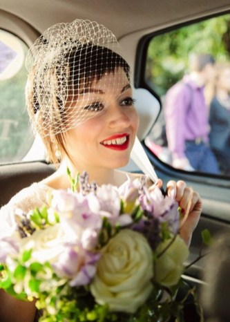 50 Blusher Veils and Bridcage for Brides Ideas 34