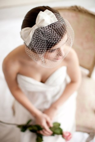 50 Blusher Veils and Bridcage for Brides Ideas 37