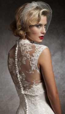 50 Blusher Veils and Bridcage for Brides Ideas 5