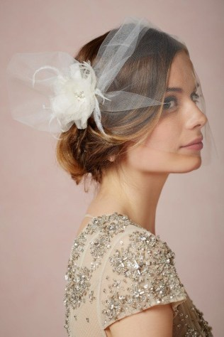 50 Blusher Veils and Bridcage for Brides Ideas 51