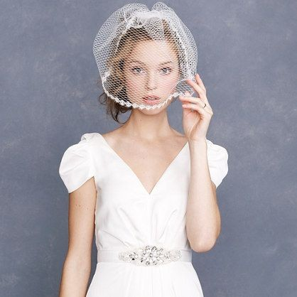 50 Blusher Veils and Bridcage for Brides Ideas 8