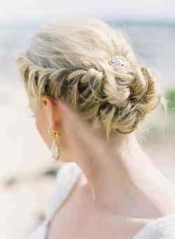 50 Braids Short Hair Wedding Hairstyles Ideas 1