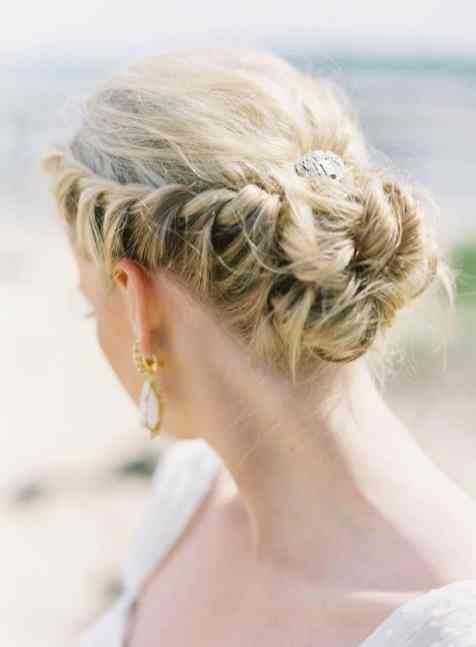 50 Braids Short Hair Wedding Hairstyles Ideas 1
