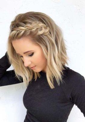 50 Braids Short Hair Wedding Hairstyles Ideas 11