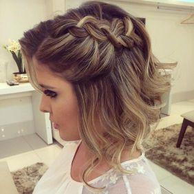 50 Braids Short Hair Wedding Hairstyles Ideas 15