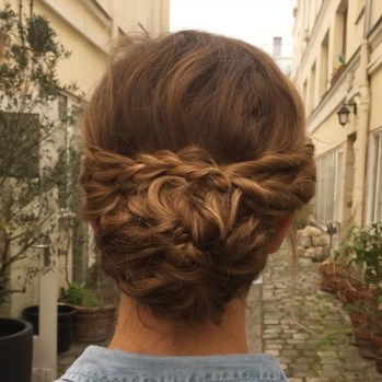 50 Braids Short Hair Wedding Hairstyles Ideas 19