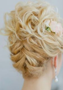 50 Braids Short Hair Wedding Hairstyles Ideas 27