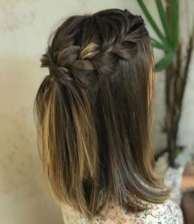 50 Braids Short Hair Wedding Hairstyles Ideas 28