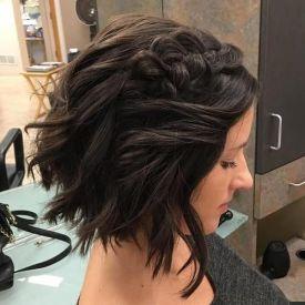 50 Braids Short Hair Wedding Hairstyles Ideas 30