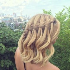 50 Braids Short Hair Wedding Hairstyles Ideas 36