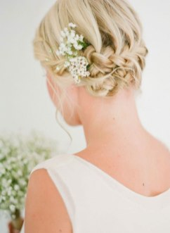 50 Braids Short Hair Wedding Hairstyles Ideas 39