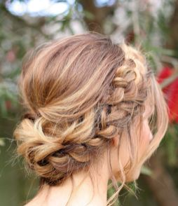 50 Braids Short Hair Wedding Hairstyles Ideas 45